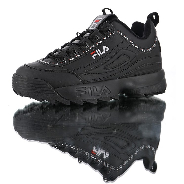 fila black shoes