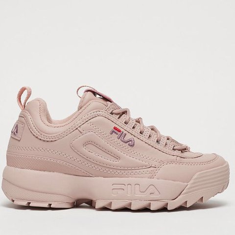 pink fila trainers